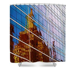 Reflection Of The Past - Tulsa Shower Curtain