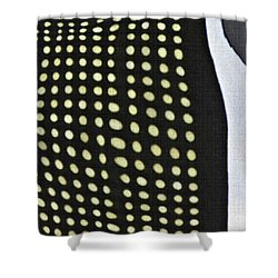 Shower Curtain featuring the photograph Reflection On 42nd Street 1 by Sarah Loft
