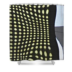 Shower Curtain featuring the photograph Reflection On 42nd Street 2 by Sarah Loft