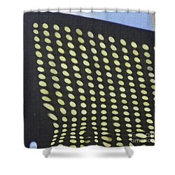 Shower Curtain featuring the photograph Reflection On 42nd Street 3 by Sarah Loft