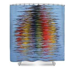 Reflection Shower Curtain by Steve Stuller