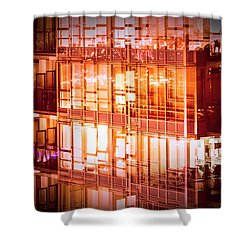 Reflectionary Phase Shower Curtain