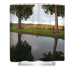 Reflections #183 Shower Curtain by Barbara Tristan