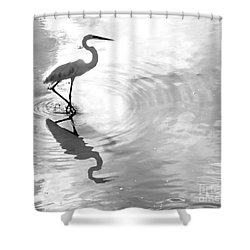 Reflections And Ripples Shower Curtain