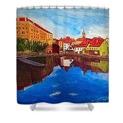 Czech Reflections Shower Curtain