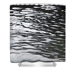 Reflections Shower Curtain by Antonio Romero