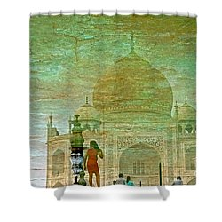 Reflections At The Taj Shower Curtain