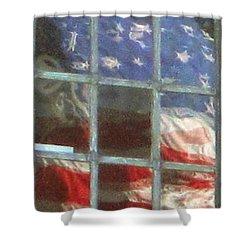 Reflections Shower Curtain by Chuck Berk