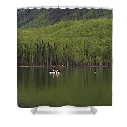 Reflections In The Lake Shower Curtain