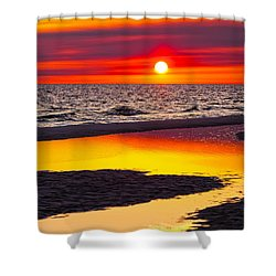Reflections Shower Curtain by Janet Fikar