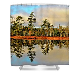 Reflections - Lake Landscape Shower Curtain