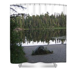 Reflections Lake 1 Shower Curtain by Barbara Yearty