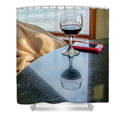 Reflections Lake Superior.... Shower Curtain