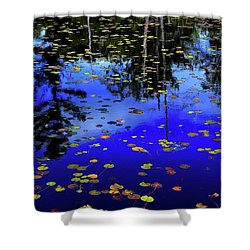 Reflections  Shower Curtain by Lyle Crump
