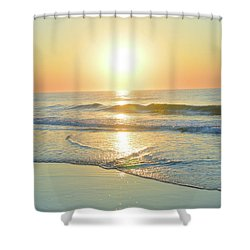 Reflections Meditation Art Shower Curtain by Robyn King