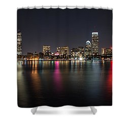 Reflections Of Boston Shower Curtain