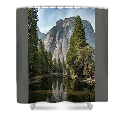 Reflections Of El Capitan Shower Curtain