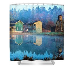 Reflections Of Hope - Hope Valley Art Shower Curtain