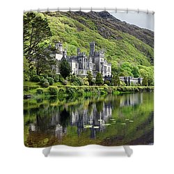 Reflections Of Kylemore Abbey Shower Curtain