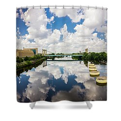Reflections Of Minneapolis Shower Curtain