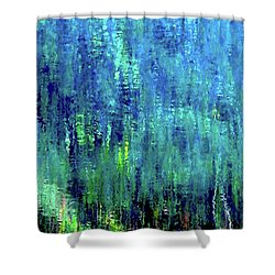 Reflections Of Monet 8155 H_12 Shower Curtain