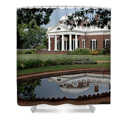 Reflections Of Monticello Shower Curtain
