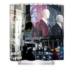 Reflections Of New York Shower Curtain