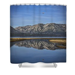 Shower Curtain featuring the photograph Reflections Of The Morning by Mitch Shindelbower