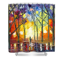 Reflections Of The Soul Shower Curtain by Jessilyn Park
