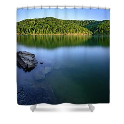 Reflections Of Tranquility Shower Curtain