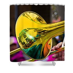 Reflections On Music II Shower Curtain