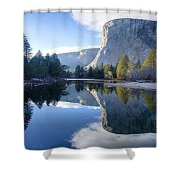 Reflections Shower Curtain by Rod Jellison