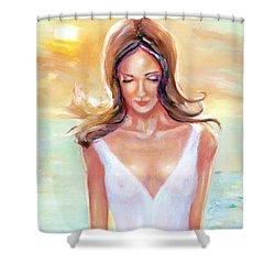 Reflective Shower Curtain