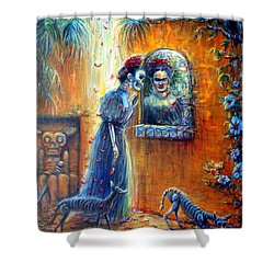 Reflejo De Frida Shower Curtain