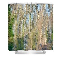 Reflet Rhodanien Pastel 3 Shower Curtain