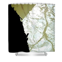 Reflets Impossibles Shower Curtain