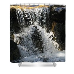 Refresh Shower Curtain by Russell Keating