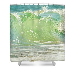 Refreshing Blues Shower Curtain