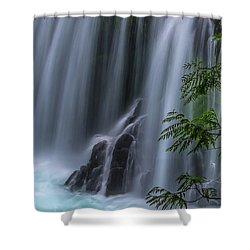 Refreshing Waterfall Shower Curtain