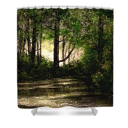 Refuge - Early Morning Shower Curtain