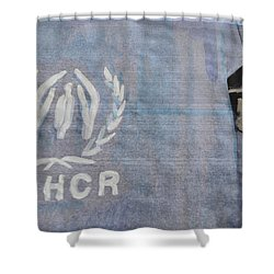 Refugees Syria Shower Curtain