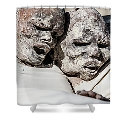 Refuges  Shower Curtain