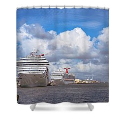 Refuling Shower Curtain