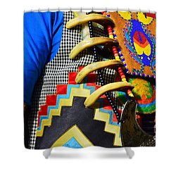 Shower Curtain featuring the photograph Regalia 1 by Lew Davis