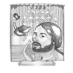 Regards Bway Shower Curtain by Stan  Magnan