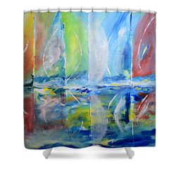 Regatta 1 Shower Curtain