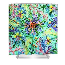 Regenerate Shower Curtain by Sandra Lett