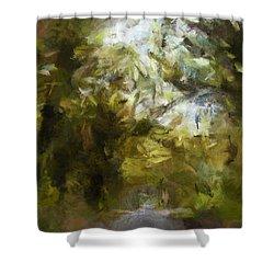 Regnskog Shower Curtain