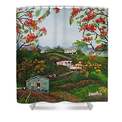 Regresare Shower Curtain