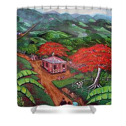 Regreso Al Campo Shower Curtain